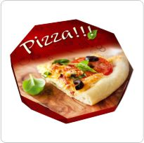 embalagem de pizza personalizada
